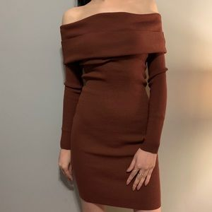 Wilfred Shoulder Sweater Dress